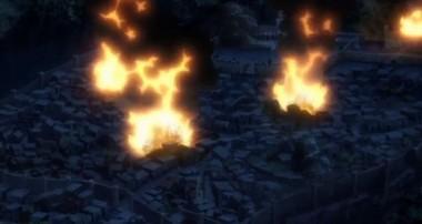 メイドワープ放火