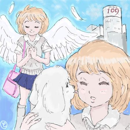 コギャル系天使降臨