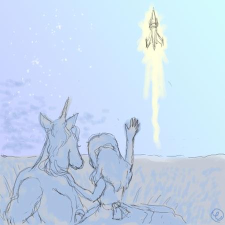 夜明けのロケット