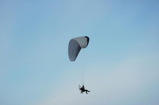 モターパラグライダー9