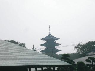 何気なく後ろを振り向くとテレポーテーションしたかのように京都みたいじゃないですか?
