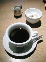 食後の珈琲