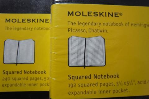 MOLESKINEポケット090922