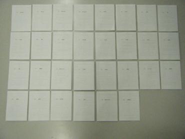 A6冊子作成過程④-1
