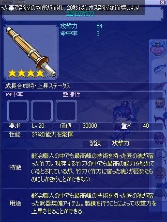 混沌の竹刀