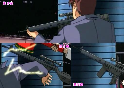 「マイアミ☆ガンズ」に登場した銃器 (ライフル編)