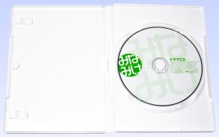 みなみけ 第8巻(初回限定版) ドラマCD ケースの中身