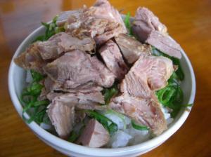 10011015ほた丸・豚飯(小) 200円