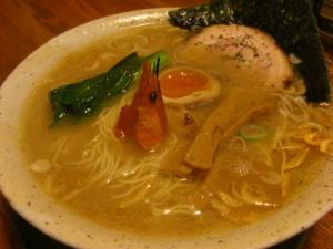 10030520あってりめん・海鮮極細麺(エビ味) 700円