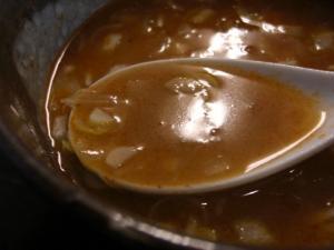 10022114とんや・つけ豚そば『その②』 スープ割り