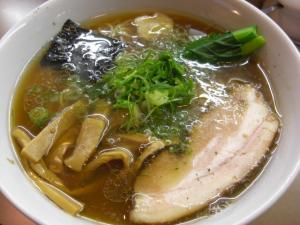 10031516あってりめん・中華そば(細麺) 600円