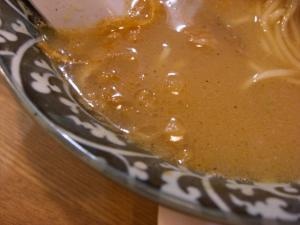 10051712○汁屋・期間限定塩らーめん スープアップ
