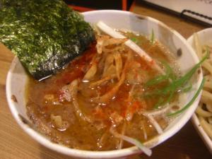 10053111○汁屋・期間限定塩つけ麺 つけ汁アップ