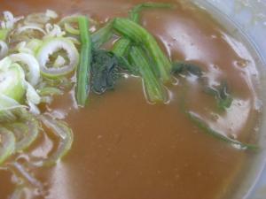 10060110山岡家・極濃和風魚介とんこつつけ麺 スープアップ