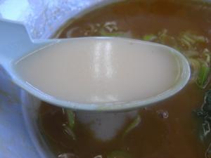 10060110山岡家・極濃和風魚介とんこつつけ麺 割りスープ