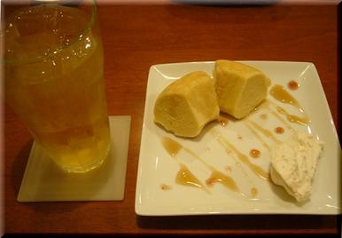 米粉のメープルケーキ