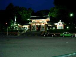 八坂神社の夜