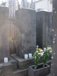 伊庭八郎の墓