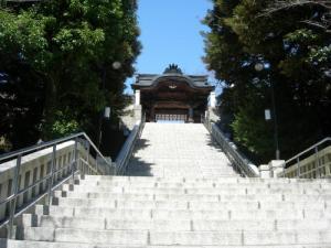 二荒山神社階段