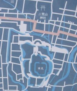 宇都宮古地図