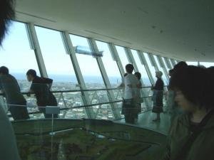 新五稜郭タワー展望室