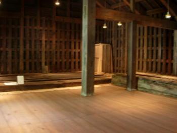 兵糧庫旧木材