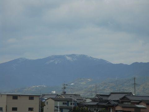 佐賀の冠雪