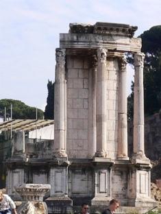 ヴェスタの神殿