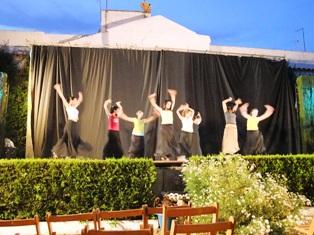 パティオ祭舞踊