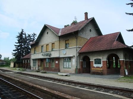 パンノンハルマ駅