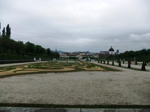 ベルベデーレ庭園
