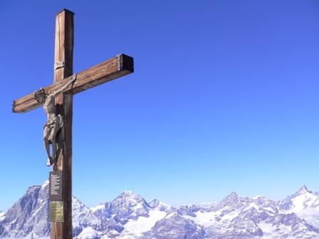 展望台のキリスト像