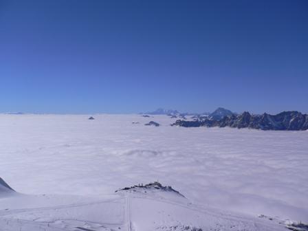 イタリア側の雲海