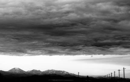 高層雲 As 絹層雲 Cs