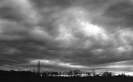 As 高層雲
