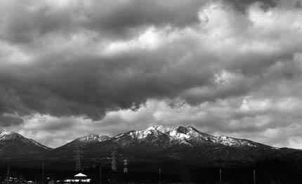 乱層雲 Ns