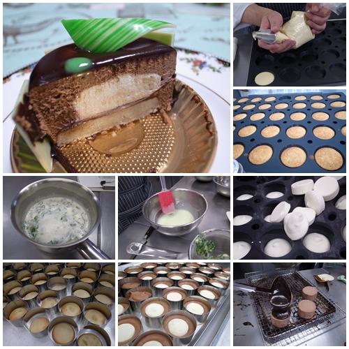 チョコミント工程