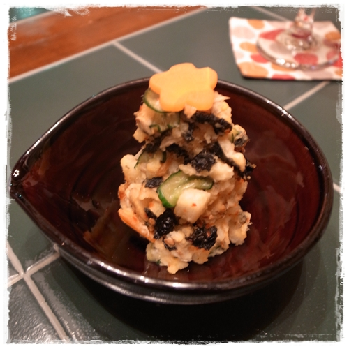ポテトサラダキムチ風