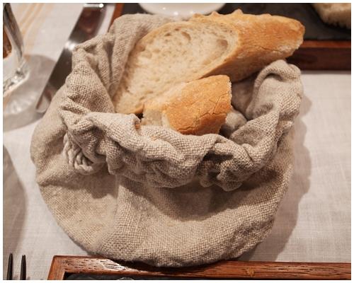 麻袋のパン