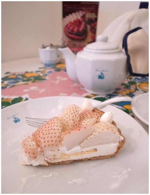 ホワイトイチゴタルト