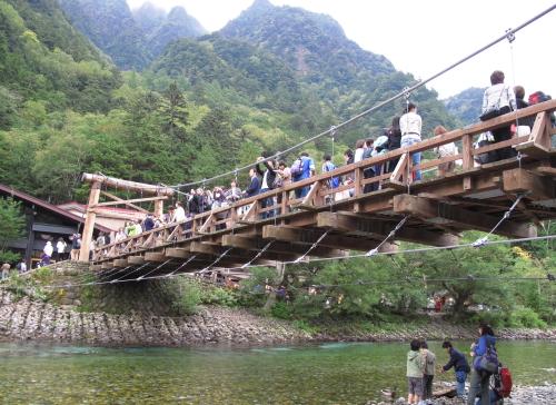 上高地河童橋2