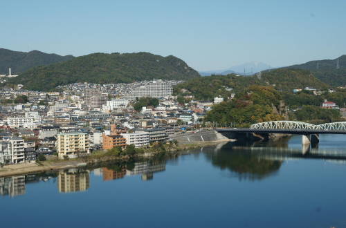 犬山城眺め1