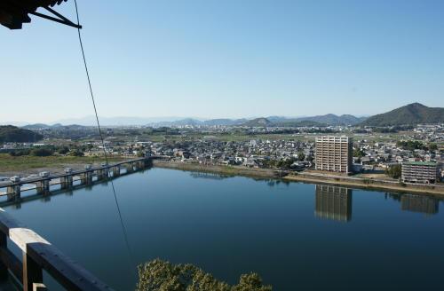 犬山城眺め2