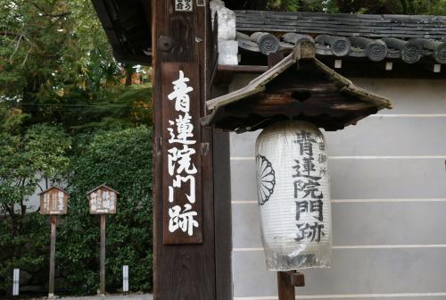 京都紅葉2011青蓮院門