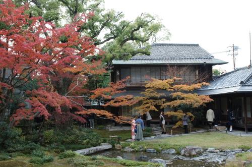 京都紅葉無鄰菴1