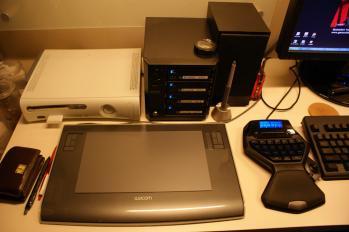 デスクトップ(左側)in2009-02