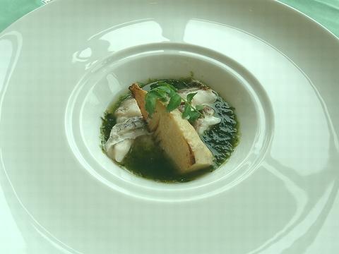 MenuSakura 桜鯛と筍のヴァプール