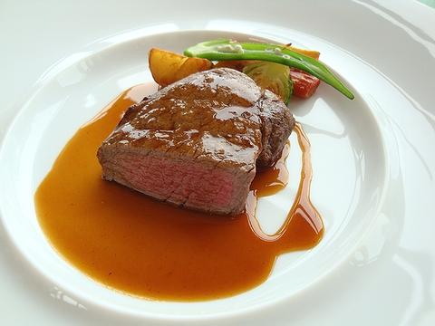 MenuSakura 牛フィレ肉のポアレ