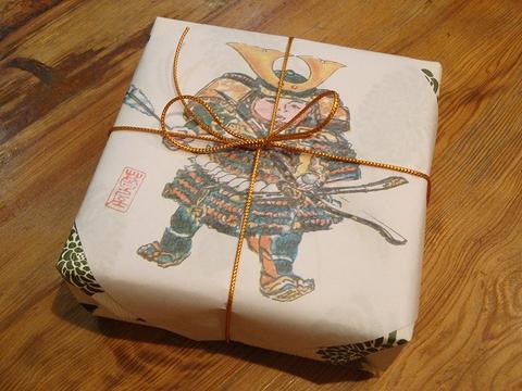 菊屋柏餅のパッケージ