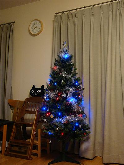 2012年のクリスマスツリー